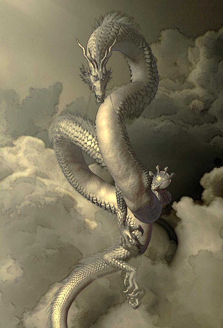 龍の絵 和龍