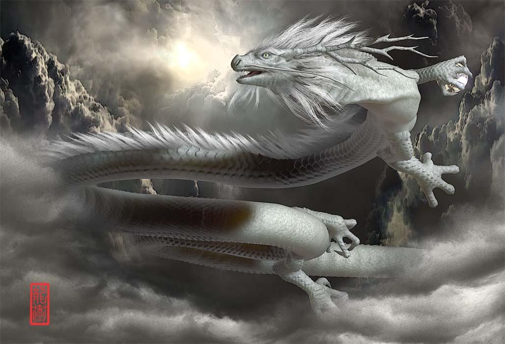 龍の絵「古龍」